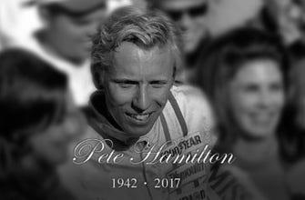 'NASCAR Race Hub' pays tribute to the late Pete Hamilton