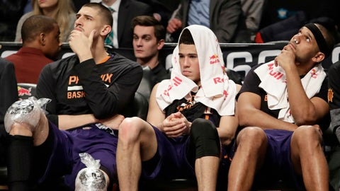 The Suns, Lakers and 76ers are racing to the bottom