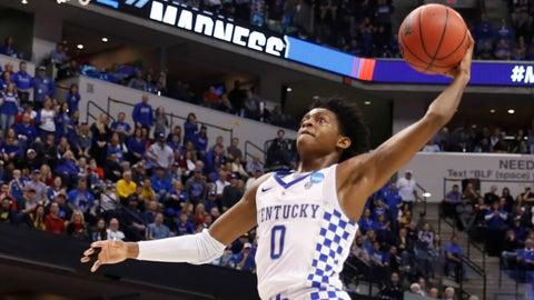 Approx. 9:39, CBS: No. 2 Kentucky vs. No. 3 UCLA