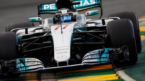 Valtteri Bottas will start from third place for the Australian GP. (Photo: Steven Tee/LAT Images)
