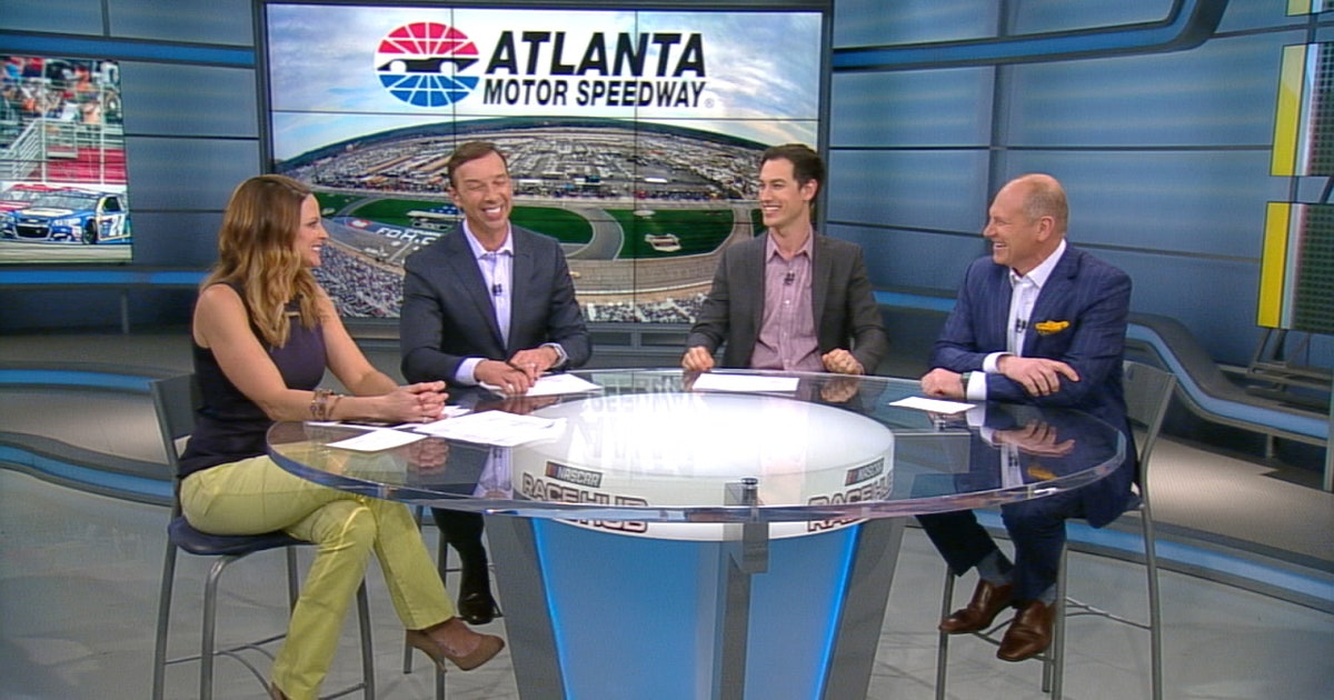 Joey Logano reveals on 'Race Hub' how excited he is about Atlanta news | FOX Sports