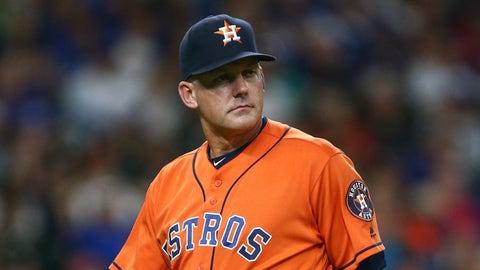 AL Manager: A.J. Hinch, Astros