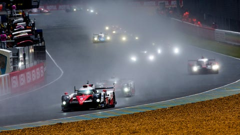 Toyota Gazoo Racing will field three cars at this year's 24 Hours of Le Mans. (Photo: Zak Mauger/LAT Photographic)
