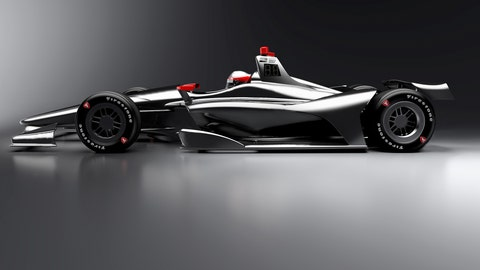 2018 IndyCar Series car