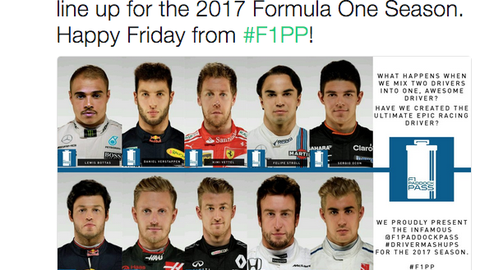 The F1 grid