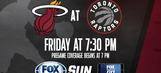 Miami Heat at Toronto Raptors game preview