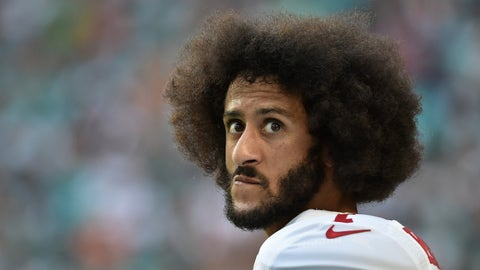 Some teams concerned about Colin Kaepernick's vegan diet
