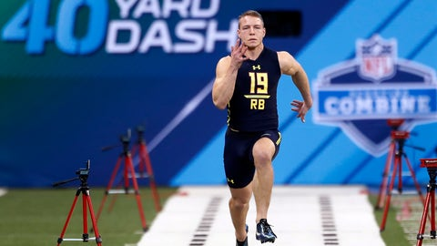 Shannon: If Christian McCaffrey was black, he'd be picked in the top 10