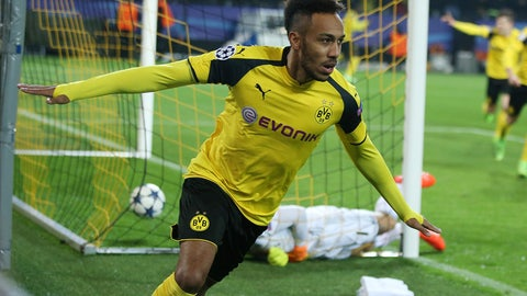 Get Pierre-Emerick Aubameyang involved early