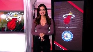 Philadelphia 76ers at Miami Heat - 7 p.m. - FOX Sports Sun