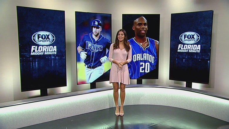 Florida Midday Minute: Magic vs. 76ers, extension for Rays' Kiermaier