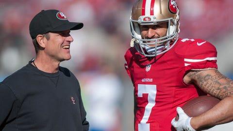 Jim Harbaugh: Colin Kaepernick is a championship-caliber quarterback