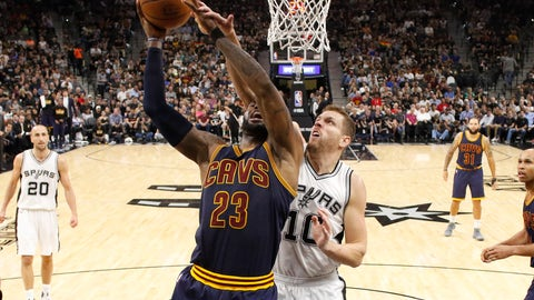LeBron James: The Spurs were the worst team we could have faced
