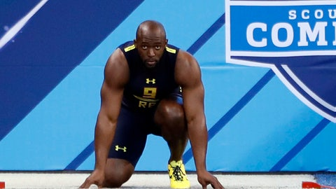 DBs Show Off Speed As NFL Combine Comes To A Close Monday