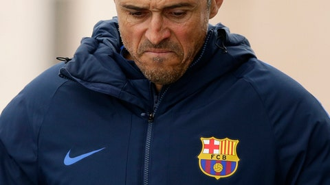 Luis Enrique's decisions