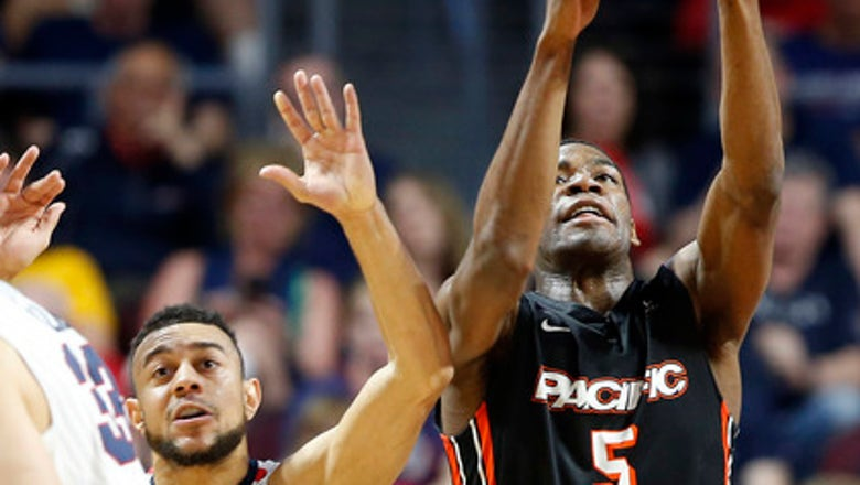 No. 4 Gonzaga recovers from 1st loss, routs Pacific 82-50