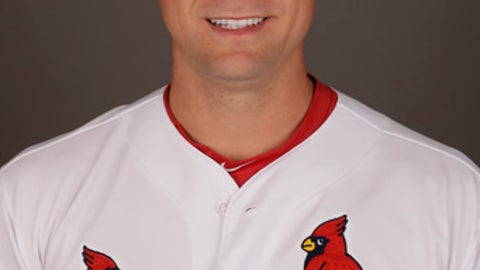 This is a 2017 photo of Trevor Rosenthal of the St. Louis Cardinals. This image represents the Cardinals active roster on Monday, Feb. 20, 2017, in Jupiter, Fla. (AP Photo/David J. Phillip)