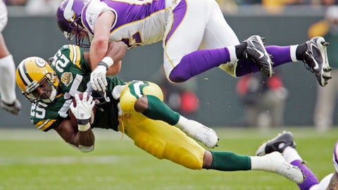 December 23: Minnesota Vikings at Green Bay Packers, 8:30 p.m. ET
