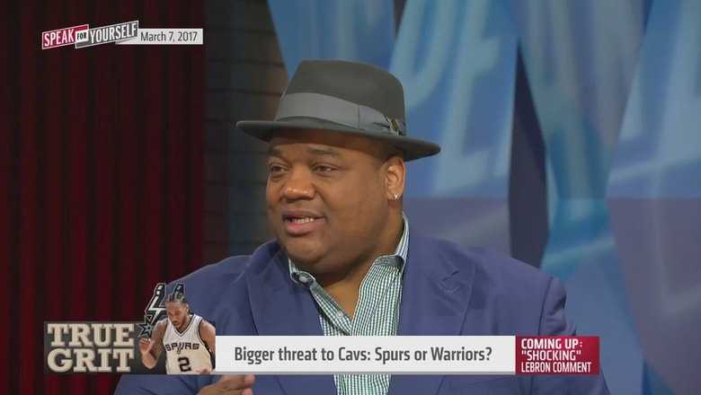 Who is a bigger threat to Cavs - Spurs or Warriors? | SPEAK FOR YOURSELF