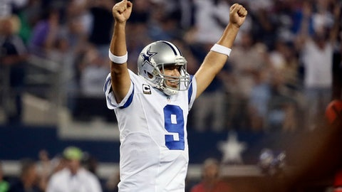 Romo finished with two playoff victories