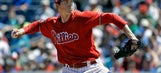Jerad Eickhoff has been almost as good as Cole Hamels