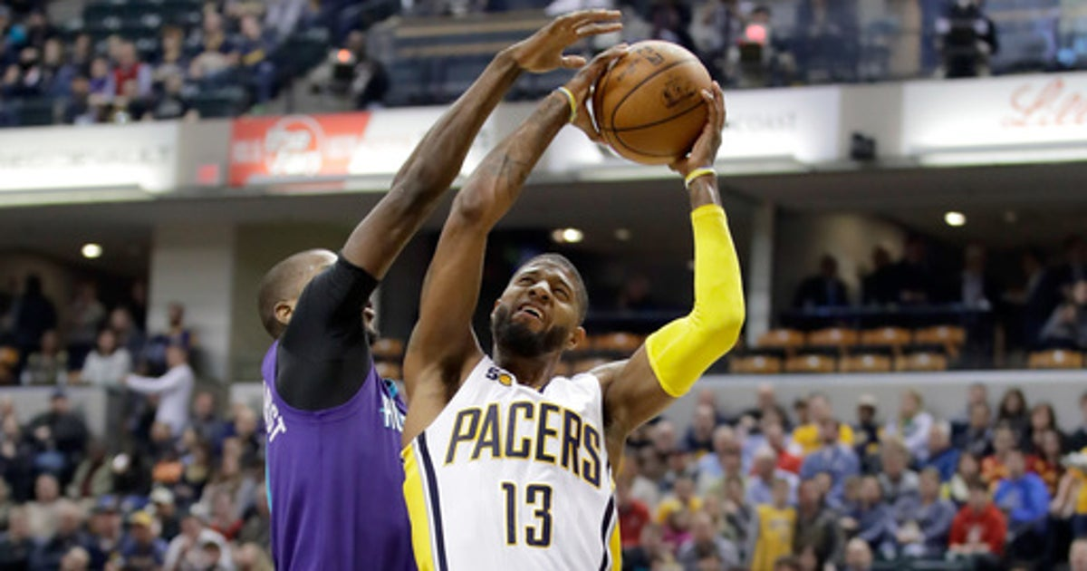 George scores 39 points, Pacers roll past Hornets 98-77 (Mar 15, 2017)