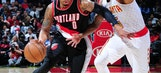 Lillard has 27 as Trail Blazers start fast, top Hawks 113-97 (Mar 18, 2017)