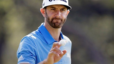 Dustin Johnson is now winning everything