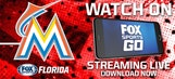 Watch live Marlins games at home or on the go with FOX Sports Go