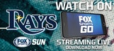 Watch live Rays games at home or on the go with FOX Sports Go