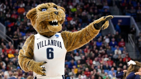East Region: No. 8 Wisconsin vs. No. 1 Villanova (approximately 2:40 p.m. ET)