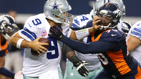 Vance Joseph: Broncos 'haven't had one meeting' about Tony Romo