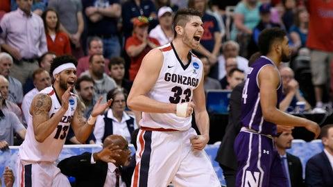 West Region: No. 4 West Virginia vs. No. 1 Gonzaga (Thursday, 7:39 p.m. ET)