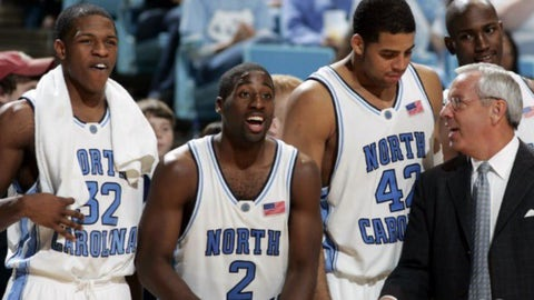 North Carolina 82, No. 10 Duke 79 (March 9, 2003)