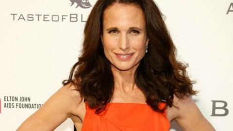 Winthrop: Andie MacDowell (actress)