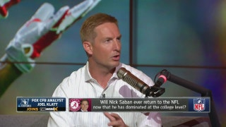 Joel Klatt talks NFL Draft, Nick Saban and more | THE HERD (FULL INTERVIEW)