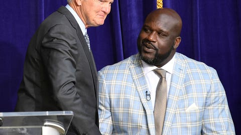 Shaq and Jerry West