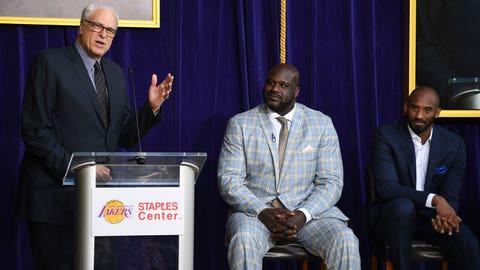 Shaq, Kobe and Phil Jackson