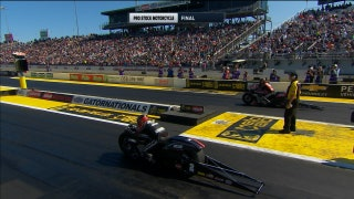 Eddie Krawiec Wins Pro Stock Motorcycle Final at Gainesville | 2017 NHRA DRAG RACING