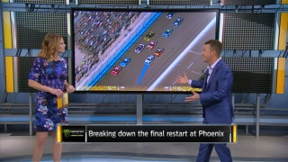 Breaking Down the Final Restart at Phoenix | NASCAR RACE HUB