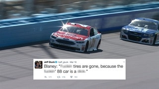 Ryan Blaney's Bad Day at Phoenix
