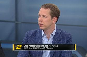 Brad Keselowski Reacts to Phoenix Penalties | NASCAR RACE HUB