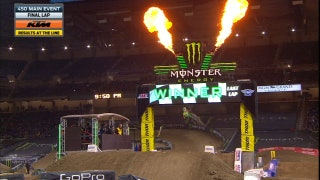 Eli Tomac Wins Fourth Straight Race at Detroit | 2017 MONSTER ENERGY SUPERCROSS