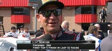 Clint Bowyer Thrilled to be Back in Top Five | 2017 FONTANA | FOX NASCAR