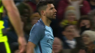 Sergio Agüero scores twice for Manchester City | 2016-17 FA Cup Highlights