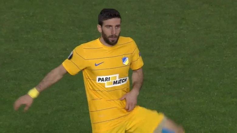 APOEL vs. Anderlecht   2016-17 UEFA Europa League Highlights