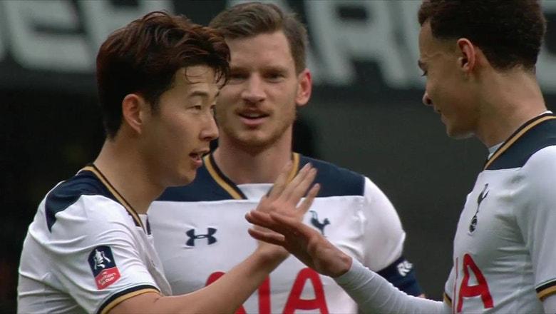 Tottenham Hotspur vs. Millwall | 2016-17 FA Cup Highlights