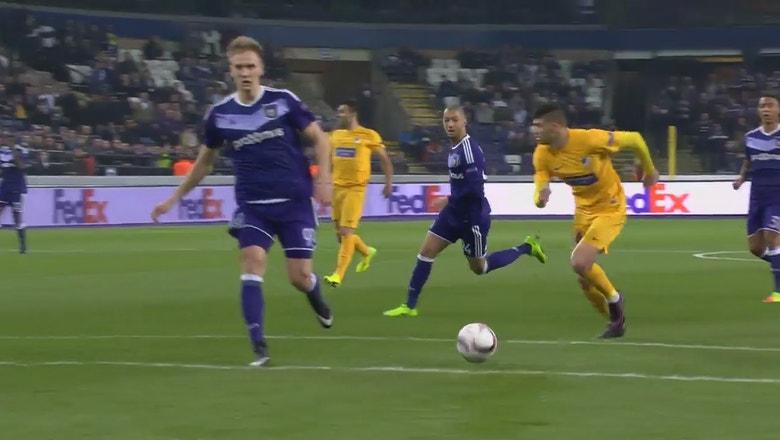 Anderlecht vs. APOEL   2016-17 UEFA Europa League Highlights