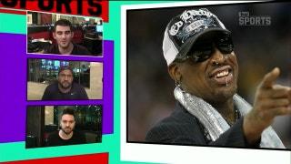 Dennis Rodman sings with street performers in Las Vegas | TMZ SPORTS