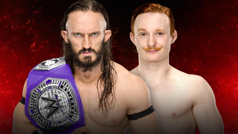 Neville vs. Jack Gallagher for the Cruiserweight Championship